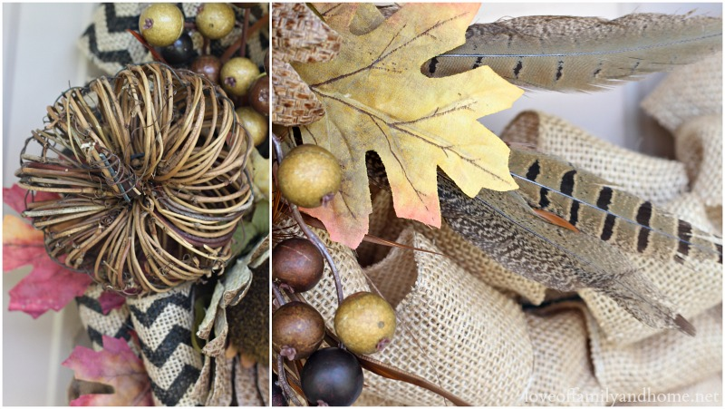 Burlap Fall Wreath 10