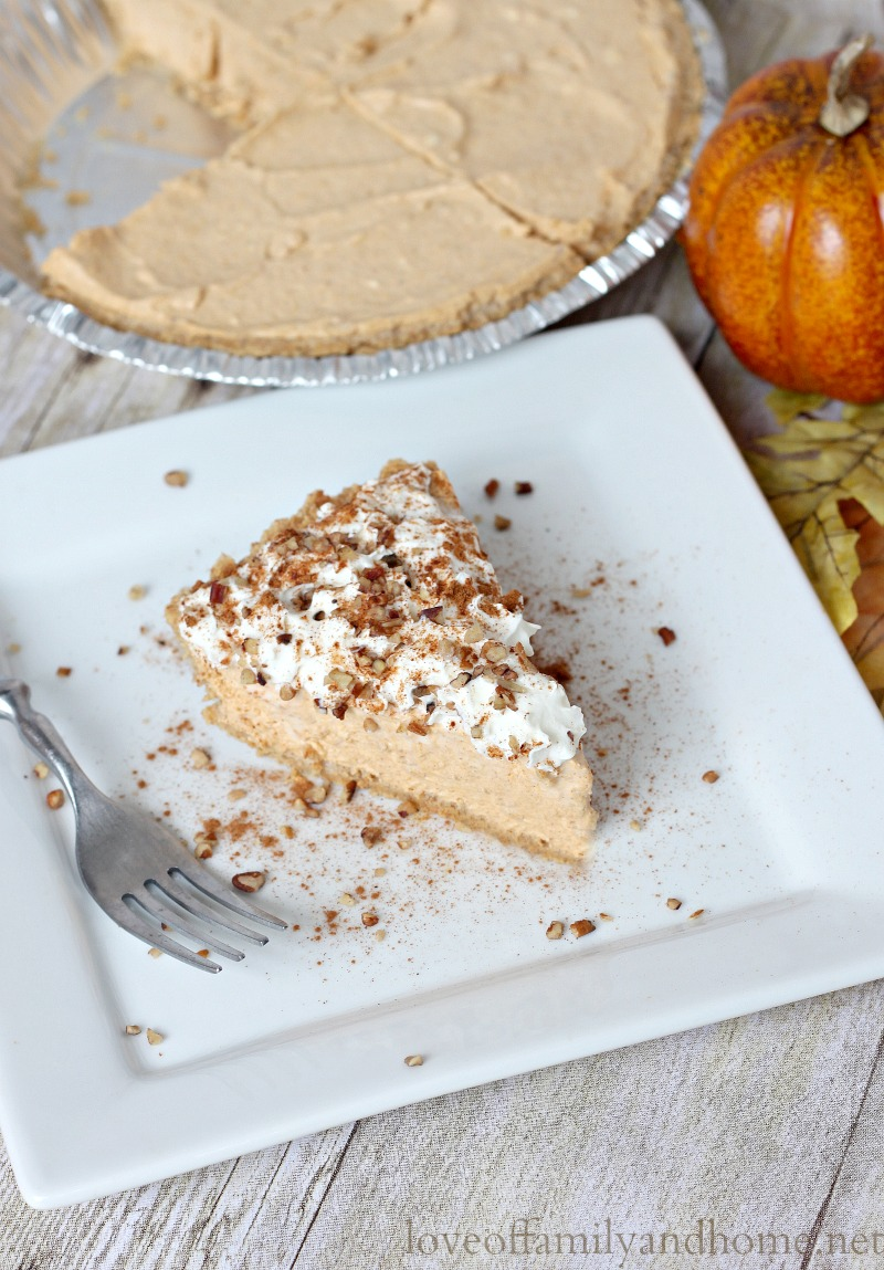 Cream Cheese Pumpkin Pie 2