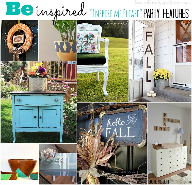"""Inspire Me Please"" Weekend Blog Hop #29 Party Features"