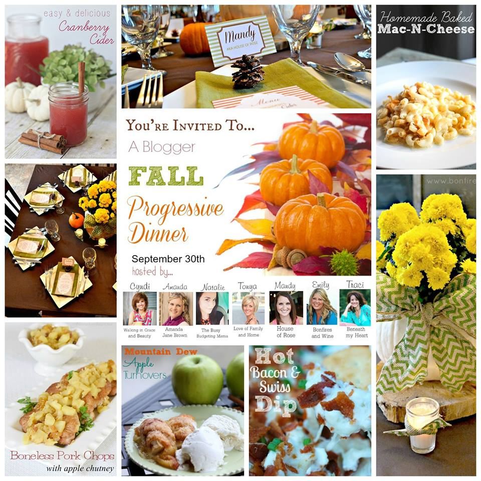 Fall Dinner Party Menu Suggestions Part - 19: Fall Progressive Dinner Party