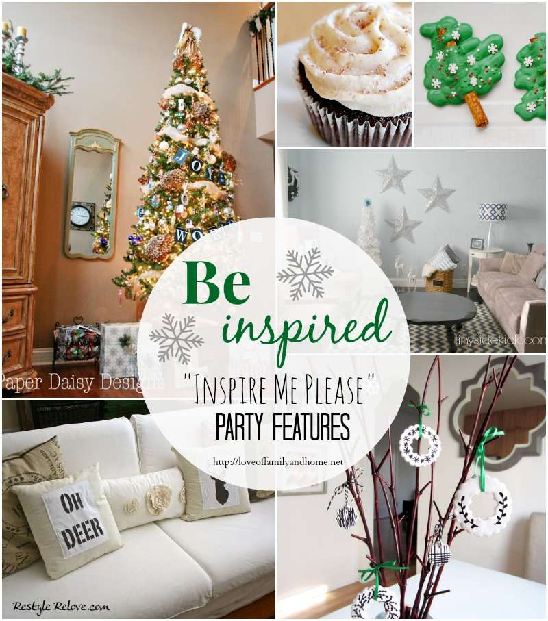 """""""Inspire Me Please"""" Weekend Blog Hop #42 Party Features"""