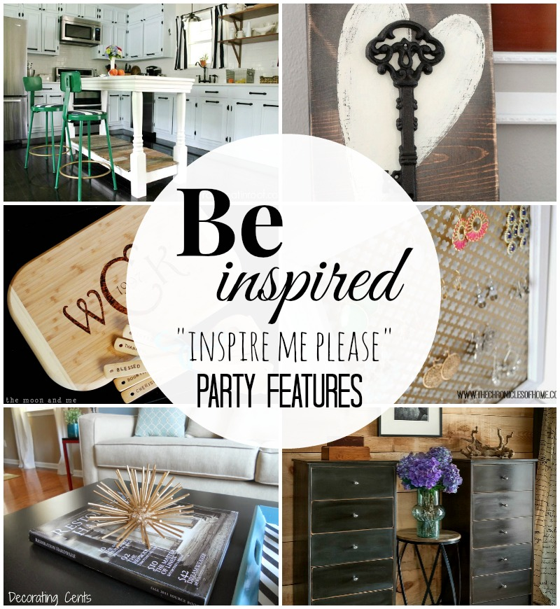 """""""Inspire Me Please"""" Weekend Blog Hop Party Features"""