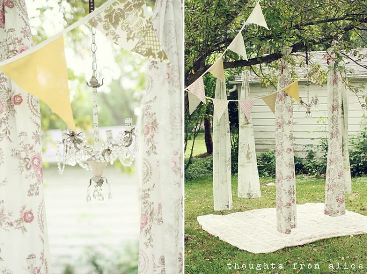 Romantic Pennant Banners