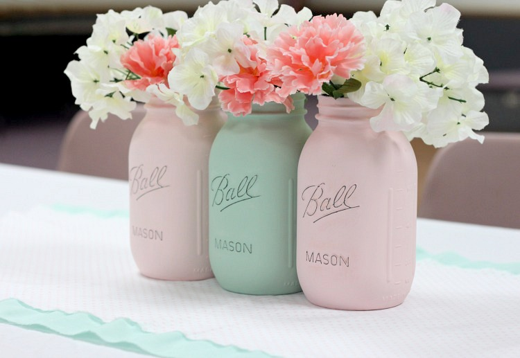 how to paint mason jars 8