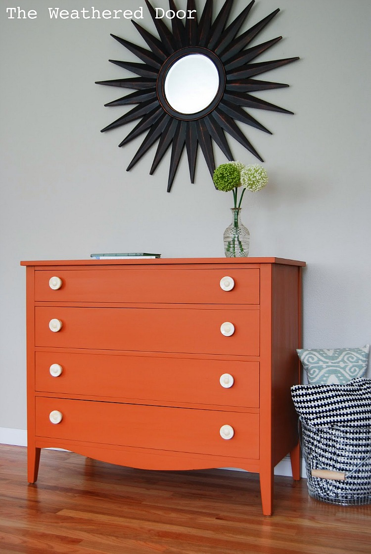Orange Dresser with Bone Knobs WD-5.jpg