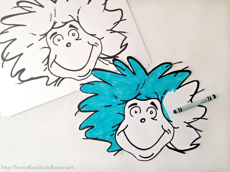 Thing 1 Thing 2 Dr Seuss Party Favors Treat Bags  Love of