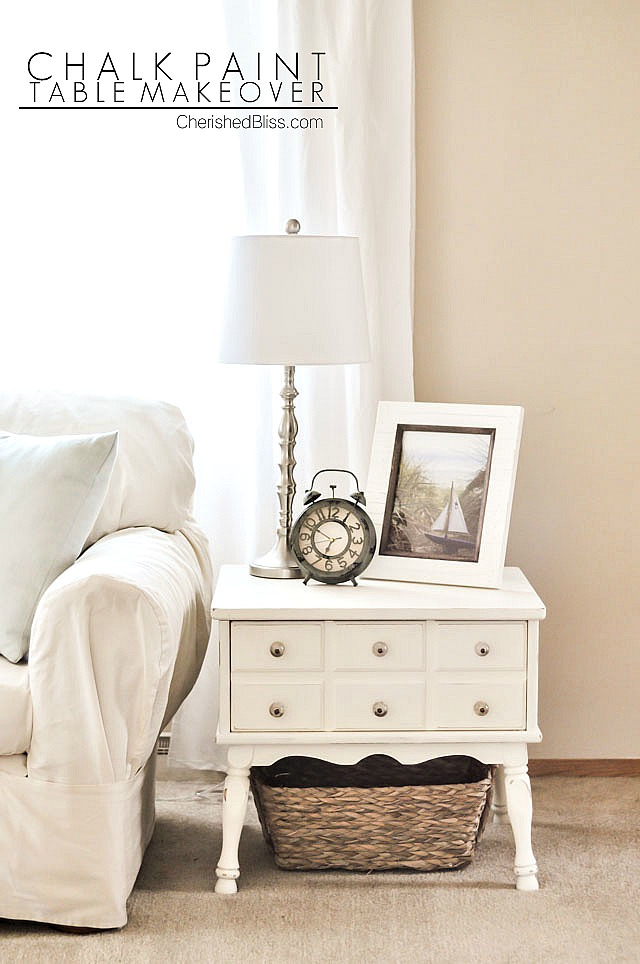 Chalk-paint-side-table