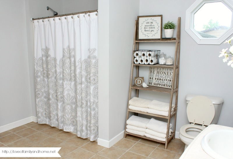 Bathroom Makeovers Ni farmhouse style bathroom makeover - love of family & home