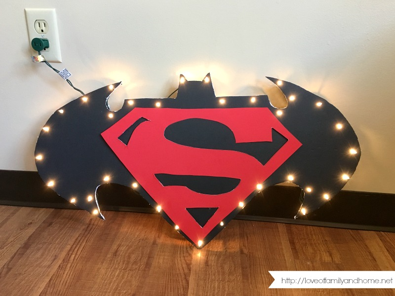 DIY Light Up Marquee Sign