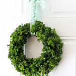 How To Make A Boxwood Wreath….