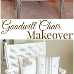 Thrift Store Chair Makeover….