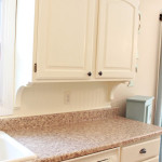 Beadboard Backsplash, Corbel Love, & A Few Other Kitchen Updates….