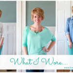 What I Wore Wednesday….