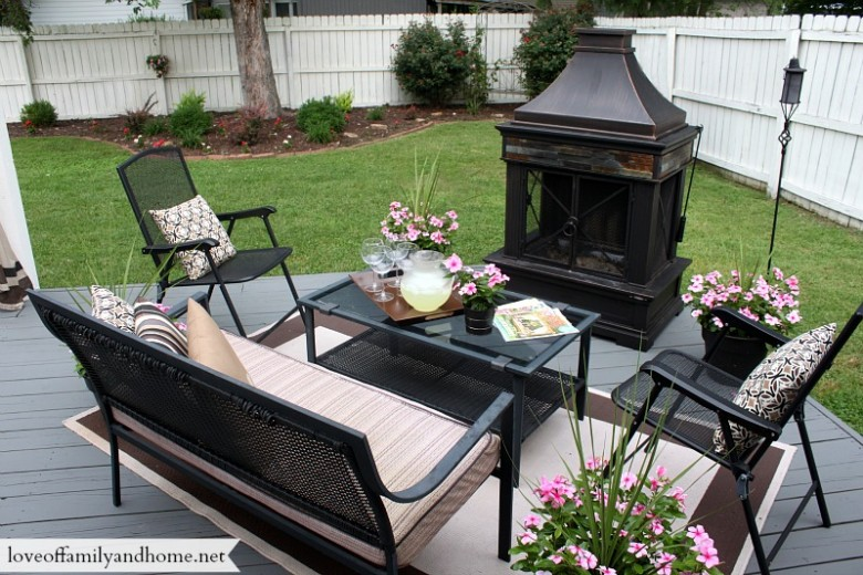 Back deck pergola reveal love of family home - Wooden balcony design ideas perfect harmony ...