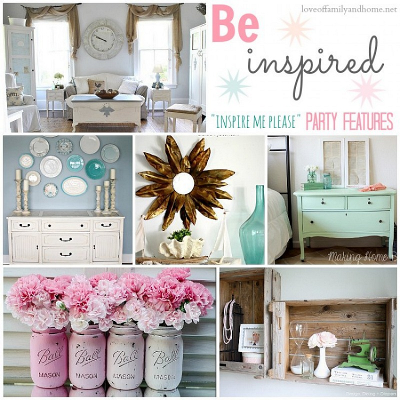 """Family Living Room Design Ideas That Will Keep Everyone Happy: """"Inspire Me Please"""" Weekend Blog Hop #20"""
