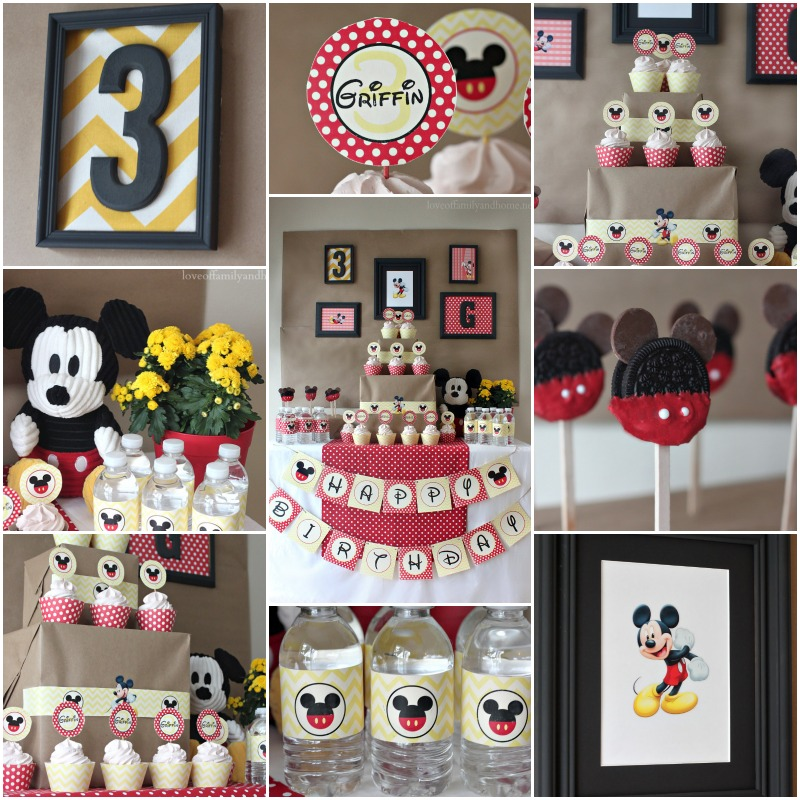 petrecere Mickey Mouse