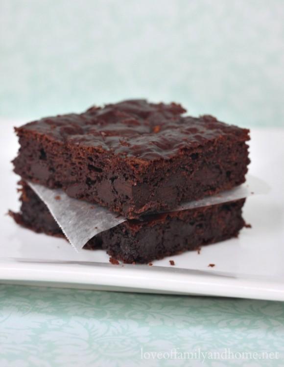 Paleo Zucchini Brownie Recipe