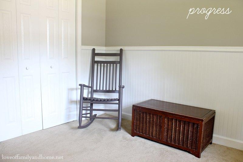 Playroom Progress-Love of Family & Home