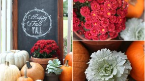 Our Fall Porch 2013 {Fall Porch Decorating Ideas}