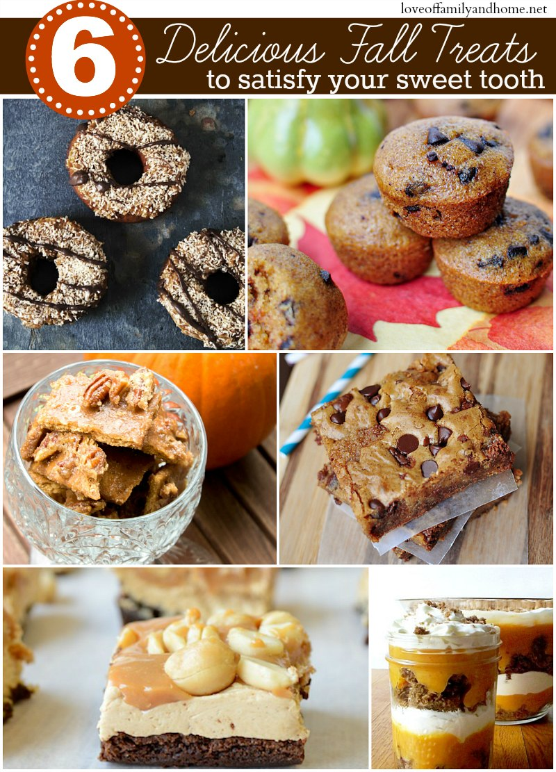 6 Delicious Fall Treats to Satisfy Your Sweet Tooth