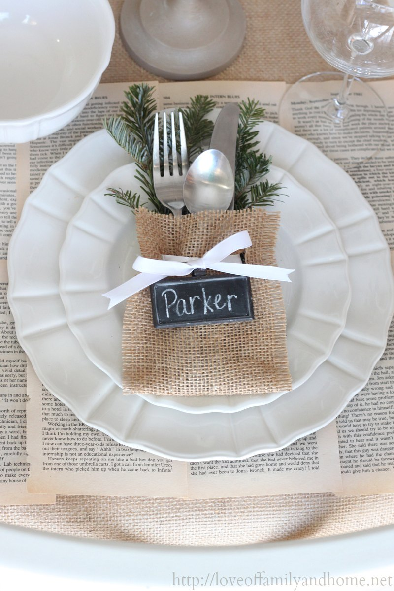 Tasty dishes and fun ideas for your holiday table down Christmas place setting ideas