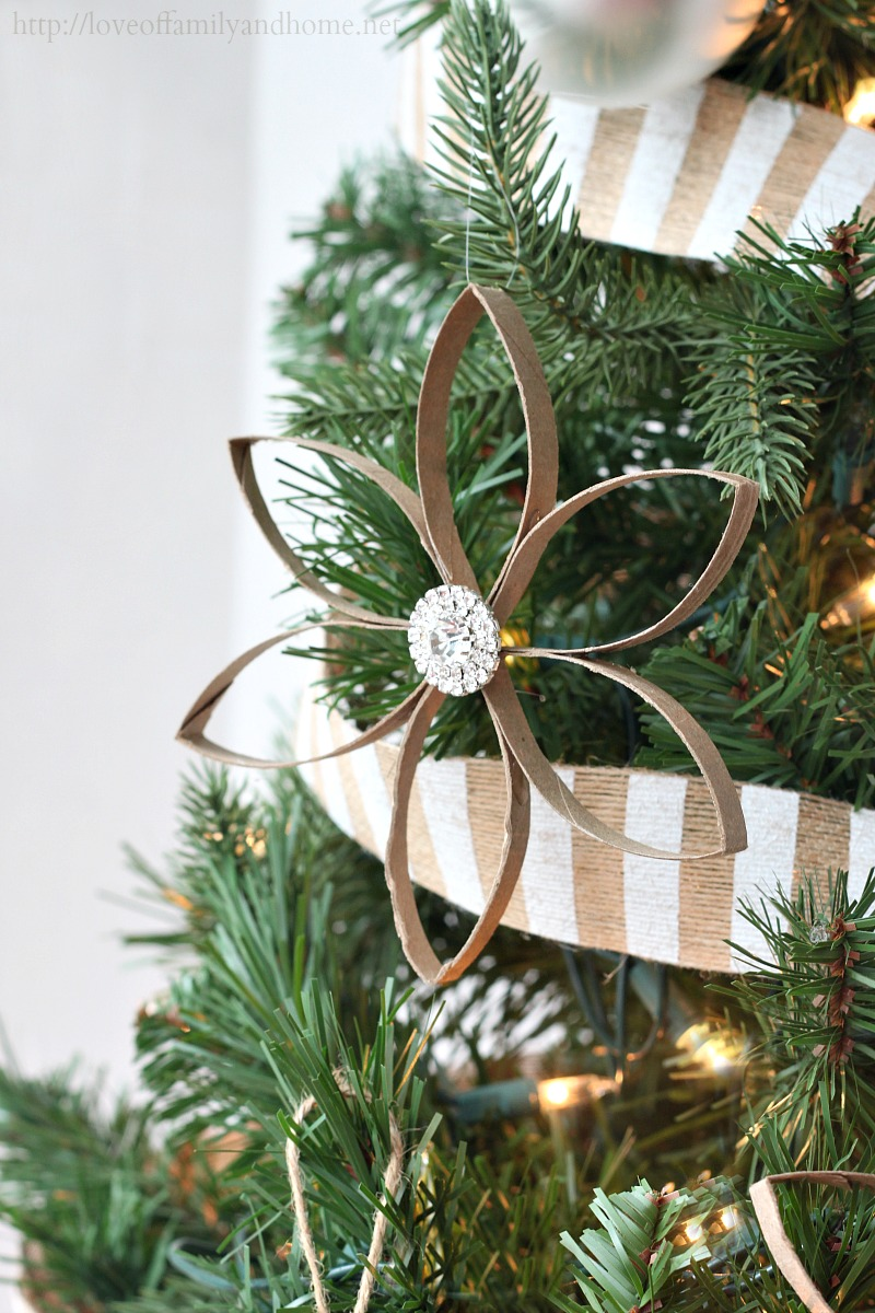 Diy Christmas Ornaments Love Of Family Home: toilet paper roll centerpieces