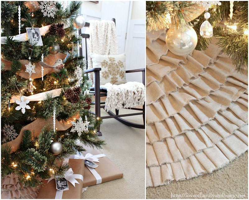 Rustic Glam Christmas Tree Collage 7