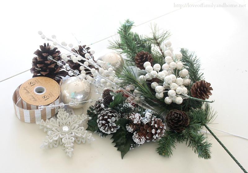 burlap christmas wreath 3