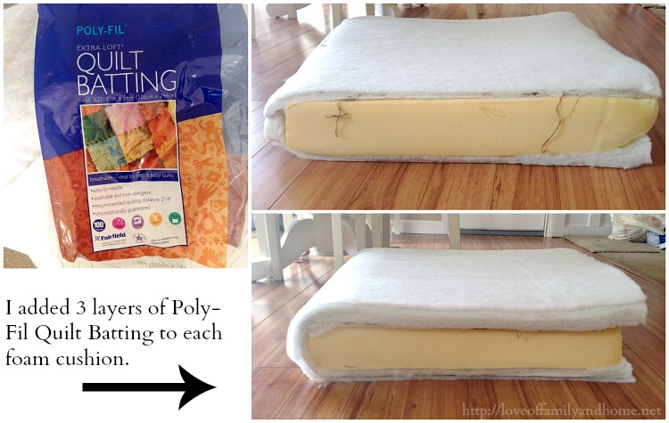 easy & inexpensive saggy couch solutions {diy couch makeover} - love Making Couch Pillows