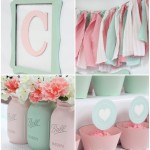 Pink and Mint Bridal Shower {My Sister's Bridal Shower}