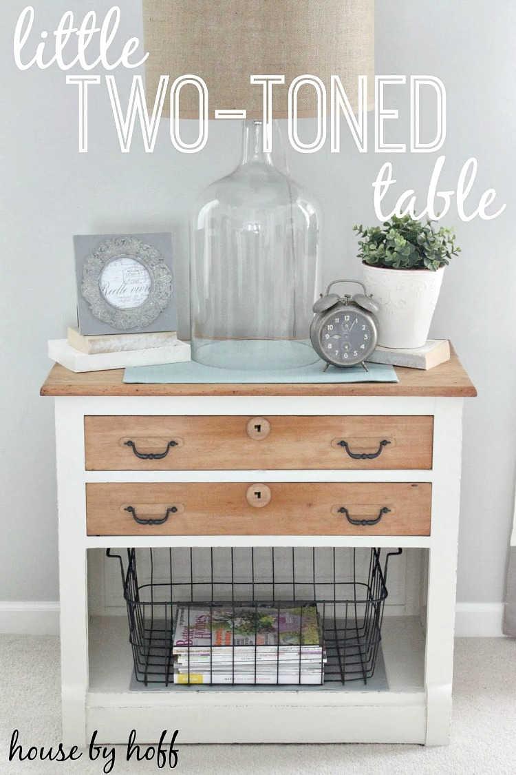 two toned table 1