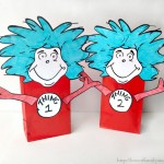 Thing 1 Thing 2 Dr. Seuss Party Favors (Treat Bags)