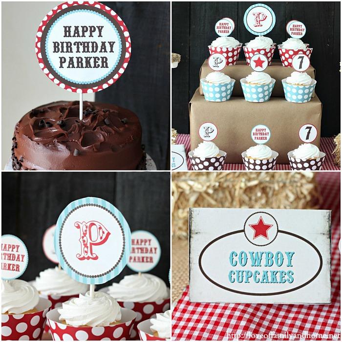 Cowboy Birthday Party 2