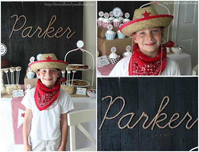 Cowboy Birthday Party 5