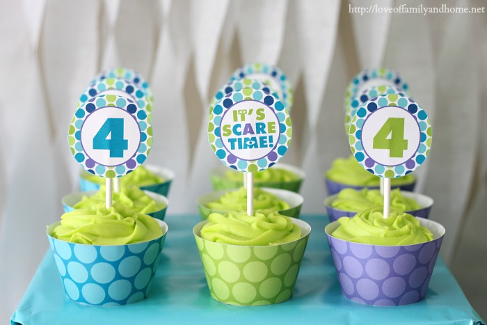 Monsters Inc party 3 & Monsters Inc. Birthday Party - Love of Family u0026 Home