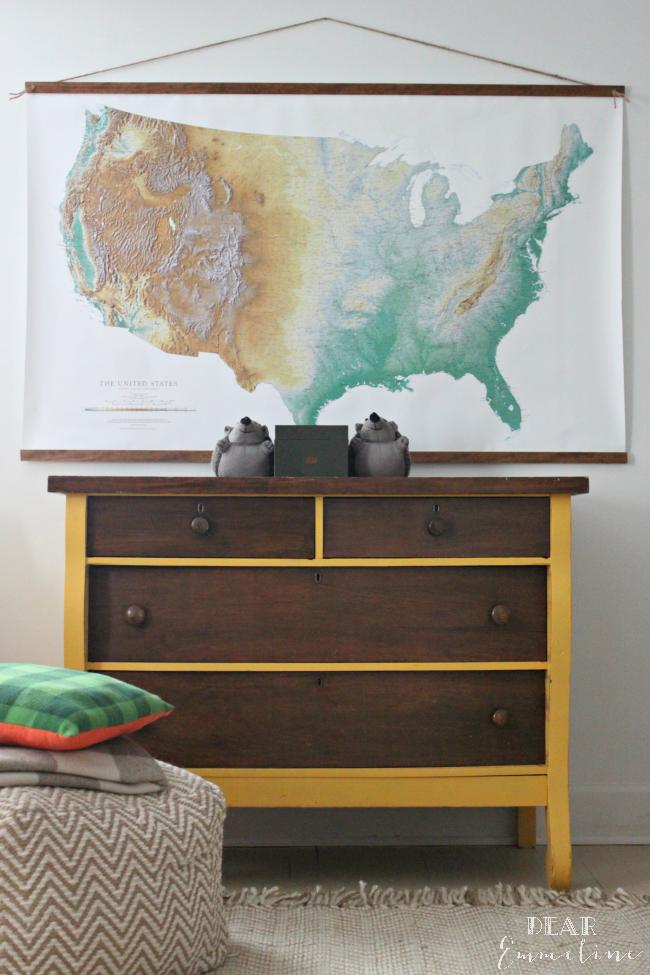 DE-map-poster