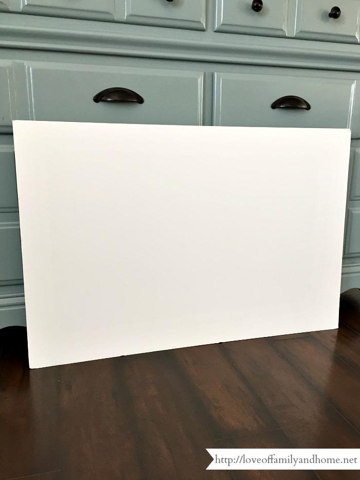 faux canvas tutorial 9