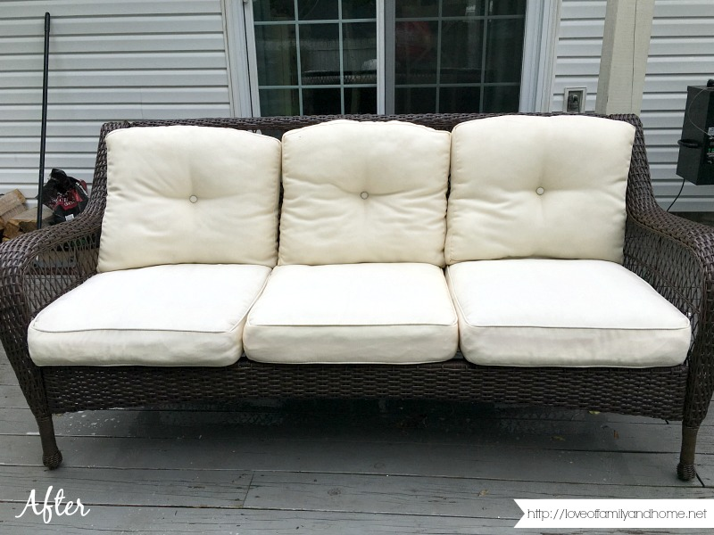 Beautiful How To Easily Remove Mildew Stains From Outdoor Cushions
