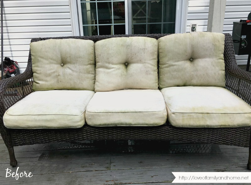Remove Mildew Stains From Outdoor Cushions, How To Remove Mold Spots From Outdoor Cushions